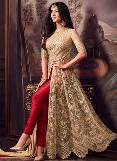 Looking to buy Anarkali online? ✓ Buy the latest designer Anarkali suits at Lashkaraa, with a variety of long Anarkali suits, party wear & Anarkali dresses! Shadi Dresses, Indian Gowns Dresses, Indian Fashion Dresses, Pakistani Dresses, Bridal Anarkali Suits, Anarkali Frock, Salwar Suits, Indian Anarkali, Lehenga Saree