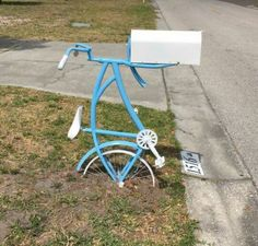Bicycle Mailbox