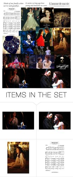 """Phantom of the Opera/ Love Never Dies"" by hgrace1328 ❤ liked on Polyvore featuring art"