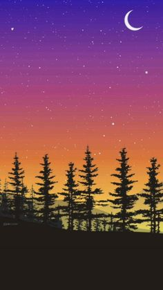 stary night 🌟Free HD wallpaper    pixcoder