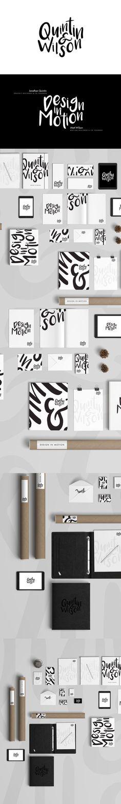 Quintin and Wilson Design Studio Branding