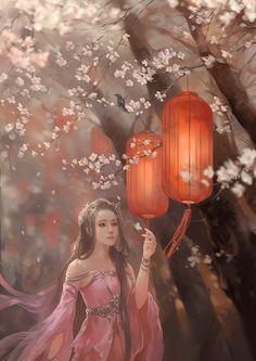 Non Official Art Art Asiatique, Art Anime, China Art, Fantasy Girl, Ancient Art, Japanese Art, Female Art, Art Girl, Amazing Art