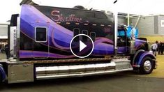 """That+is+One+Beautiful+Truck!+SICK+Kenworth+W900L+""""Home+On+Wheels""""+-+This+is+a+beautiful+and+unique+big+rig!+This+truck+is+a+custom+show+truck,+not+really+d"""