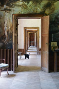 A 13th Century French Castle abandoned for 40 years gets a fabulous overhaul.