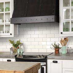 Santa Monica Ivory 4x12 Tile | Pinterest | Ivory, Bath and Condo kitchen