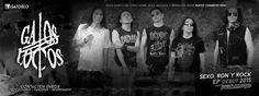 """METALHOUSE: GATOS LOCOS - Pronto Ep """"Sexo, Ron y Rock"""". GATOS LOCOS es una banda de Rock Duro desde la ciudad de Nuevo Chimbote-Perú. Pronto el material en Ep """"SEXO, RON y ROCK"""" será puesto en libertad muy pronto por: El Rito & METALHOUSE PROmotions. Productores de Conciertos, Label, Fanzines, Maníacos interesados. Contacten Inbox."""