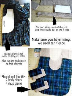 DIY Pet Coat Pattern – Sewing it Together! | bevykona