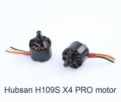 CW CCW Brushless motors for Hubsan H109S X4 PRO RC Drone kvadrokopter spare parts #Affiliate