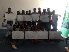 Ghanaians think of a Better World on World Speech Day