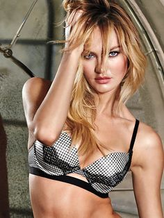 ea07ffc643 Worn by   Angel Candice Swanepoel Type   Very Sexy Push Up Bra Color    Houndstooth Lace Trim with Banding. Victoria s Secret Collections
