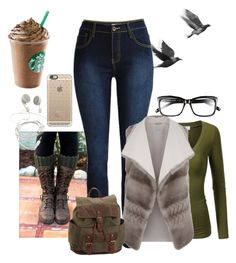""""""">> Starbucks <<"""" by violetrosesrt ❤ liked on Polyvore featuring J.TOMSON, malo, Casetify, Aéropostale, Bobbi Brown Cosmetics and emilysfallcontest"""