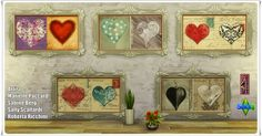 "Annett's Sims 4 Welt: Pictures Set ""Heart"""