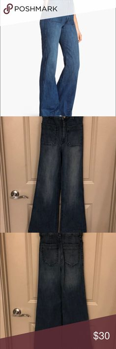 "ab5ea95248df4 High waisted flare jeans New without tags H M high waisted flare denim. 28""  inseam"