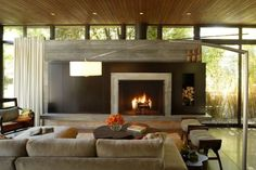 love this fireplace...KAA Design Group