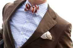 Consider the bow tie