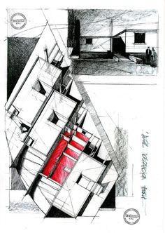 Terrace houses 2 by ~dedeyutza - Best Home Decorating Ideas - Easy Interior Design and Decor Tips Revit Architecture, Architecture Visualization, Architecture Sketches, Architectural Section, Architectural Presentation, Architectural Drawings, House Design Drawing, Conceptual Drawing, Drawing Art