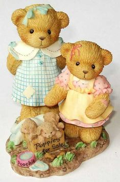 Heidi´s Cherished Teddies Galerie: JO and DEE - CARLTON CARDS - A Warm Heart Is A Good Home (789798)