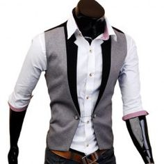 Waistcoats For Men   Cheap Best Mens Waistcoats For Sale Online At Wholesale Prices   Sammydress.com
