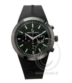Black watch with stainless steel case. For a real black look! Roberto Giannotti Angel @ €148,00 on www.cicala.it - the online jewelry store.
