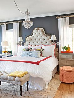 Click through for some of our favorite mood-inspired color palettes! Find more ideas here: http://www.bhg.com/decorating/color/colors/color-and-mood/?socsrc=bhgpin010715colorandmood