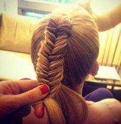 10 Gorgeous New Ways to Wear a Fishtail Braid