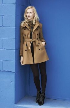 Burberry Brit Fall Trench Coat