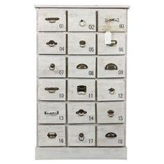 chiffonnier blanc 5 tiroirs barok but entr e pinterest. Black Bedroom Furniture Sets. Home Design Ideas