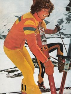 70s freestyler Penny Street. #tbt #FlashbackFriday #ski #retro