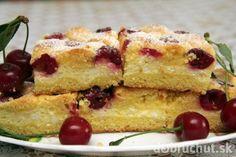 Mriežkový koláč s višňami