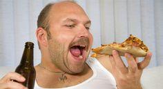Throughout pizzas