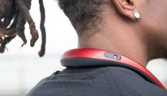 is aiming to create a new category of wearable cameras: Neckbands. The hands-free 360 camera records in Digital Trends, Over Ear Headphones, Headset, Videos, Projects, Image, Headphones, Log Projects, Ear Phones