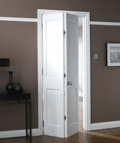 B Avesta 4 Panel Primed Bi-fold Internal Door NAT26BIAD4 White, NAT26BIAD4