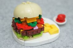 Japanese Lego Master Builds Food From Lego