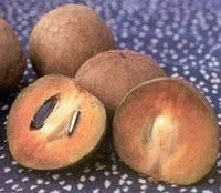 Naseberry - Another of my faves - sweet with many seeds (not as many as the sweet sop). Skin of the fruit is also eaten.