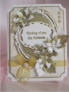 Flowers, Ribbons and Pearls: Back to Spellbinders ...