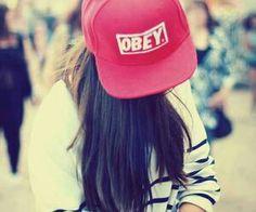 Me encantan las gorras planas