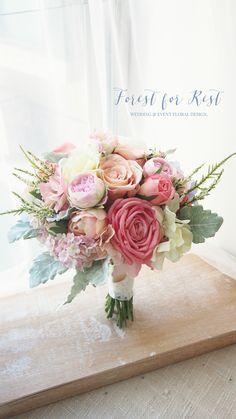 Silk flower bouquet  Facebook: Forest for Rest