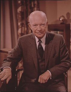 Dwight Eisenhower, I have his autograph.  He signed it for my Dad, back many many years ago, when he went thru Lansing on his Whistle Stop Campaign.  His wife Mamie got it for my Dad and told my dad that he had the most beautiful smile.  I will pass it on to my grand-niece Elizabeth.