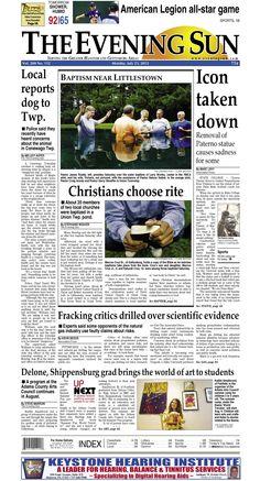 The Evening Sun, Monday, July 23, 2012