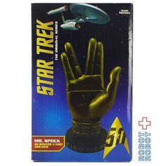 スタートレック スポック バルカンサリュート カードホルダー Star Trek Mr. Spock Bronze Business Card Holder #アメトイ #アメリカントイ #おもちゃ#おもちゃ買取 #フィギュア買取 #アメトイ買取#ActionFigure #中野ブロードウェイ #ロボットロボット #ROBOTROBOT #中野 #WeBuyToys  #スタートレック #スタートレック買取