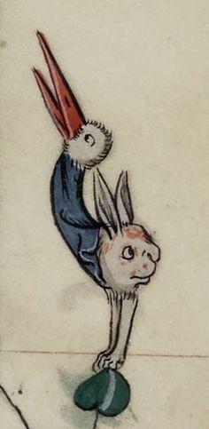 Bird-Rabbit @GallicaBnF, Fr. 13096, 14th c.