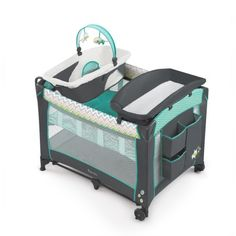 Free Shipping. Buy Ingenuity Smart And Simple Playard   Ridgedale at Walmart.com