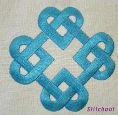 Celtic Knot machine embroidery designs in Satin stitch 1181c3d67