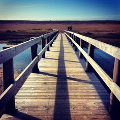 Bridge to the Beach - Portland, Dorset - February 2014 LR