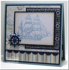 Inspired by the Sea, Sea Charms Die-namics - MFT Stamps - created by Frances Byrne