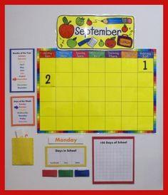 Calendar from Our Montessori Home