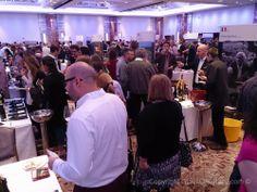 Wine tasting event. #GlassOfBubbly