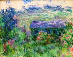 "Claude Monet (1840-1926), ""The House among the Roses."" #MonetKisyovaLazarinova"