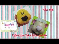 Cabeça (padrão) Bichinhos Bochechudos - YouTube