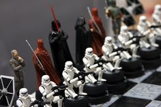 Star Wars Chess Set (Empire) | Comic-Con '08 in San Diego. | Flickr